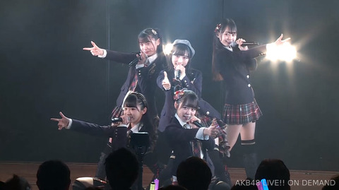 【AKB48】小栗有以、久保怜音、西川怜、山内瑞葵、大盛真歩で新ユニットキタ━━━━(゚∀゚)━━━━!!