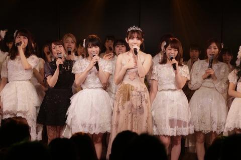 【AKB48】小嶋陽菜卒業公演、歴代3番目の倍率854倍だった