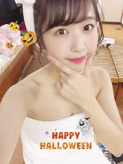 【SKE48】俺たちの惣田紗莉渚さんがハロウィンコスプレで大サービスwwwwww