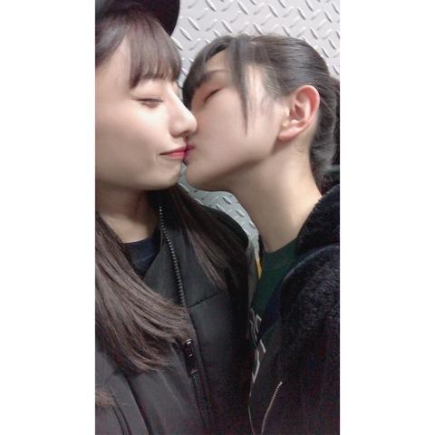 【AKB48】不慣れな鈴木優香ちゃんと手慣れた福留光帆さん【チーム8】