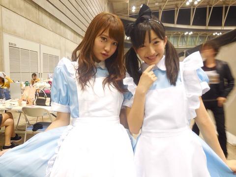 【HKT48】田島芽瑠ちゃんはもうこの頃の細さには戻れないんだろうか?