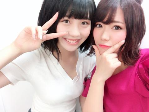 【画像】山内鈴蘭「ゆななのゆなながあああ」【SKE48・小畑優奈】