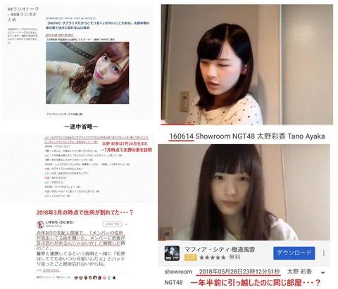 【NGT48】太野彩香が住んでた部屋の家賃54,000円←これ