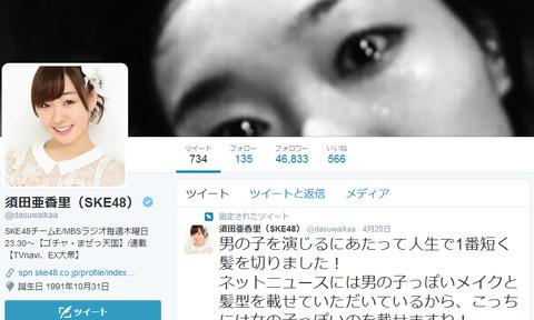 煽り抜きになんでSKE48のTwitterってフォロワー数が少ないの?