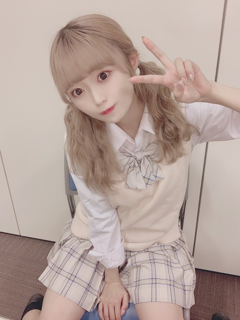 【NGT48】中井りかさんの最新画像がホラー