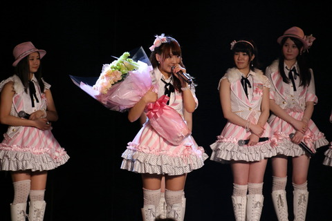 【AKB48G】ヲタから愛されてない嫌われ干されメンの卒業公演ってどんな感じ?