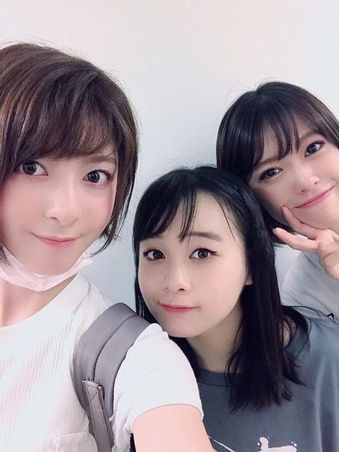 【朗報】菅原りこさん、チーム8メンバーが出演する舞台を観に行く