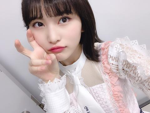 【画像あり】最近福岡聖菜ちゃんがエッチすぎるんだが?【AKB48】