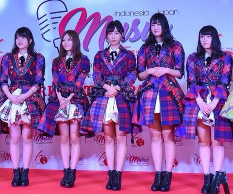 【AKB48】インドネシアのフェスに参加する純AKBの選抜がこちら