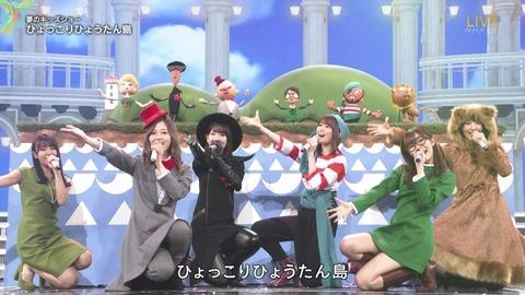 【朗報】紅白スペシャルステージの指原莉乃と白石麻衣がそっくり!!!
