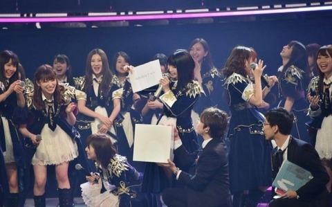 【NHK紅白】リハーサルでは3位「大声ダイヤモンド」、2位「ほねほねワルツ」、1位「11月のアンクレット」【AKB48】