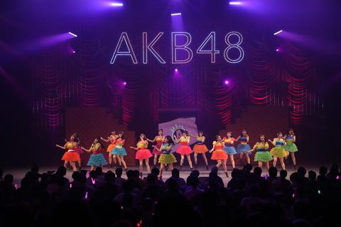 【AKB48】大声、言い訳、フラゲ、希望的←コンサートでこの辺の曲に頼るのそろそろ辞めよう