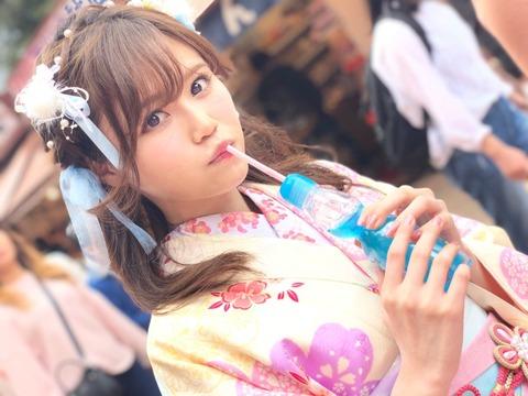 【AKB48】込山榛香「#彼女と浅草デートなう に使っていいよ」