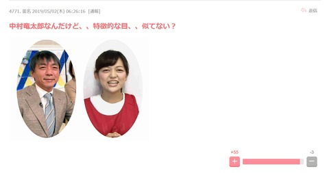 【悲報】中村竜太郎(元文春記者)と「あゆたろう」こと中村歩加(NGT48)親子説がネットで浮上www