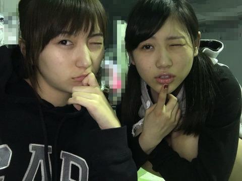 【AKB48】大島涼花と西野未姫のスッピンきたああああああ!!!