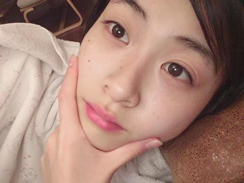 【HKT48】博多の美少女、松岡はなちゃんがすっぴんを公開