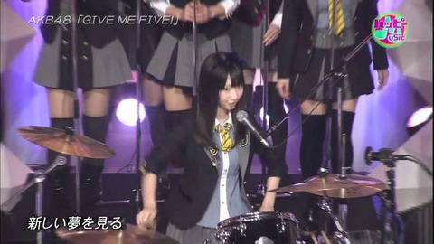【AKB48】3/16「CDTVスペシャル」歌唱曲発表!「失恋、ありがとう」&「GIVE ME FIVE」