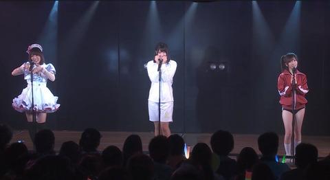 【カオス公演】はるきゃんのジャージにブルマが超絶エロい件【AKB48・石田晴香】