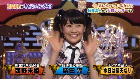 【AKB48】なぜ西野未姫をもっとバラエティ番組に出さないのか?