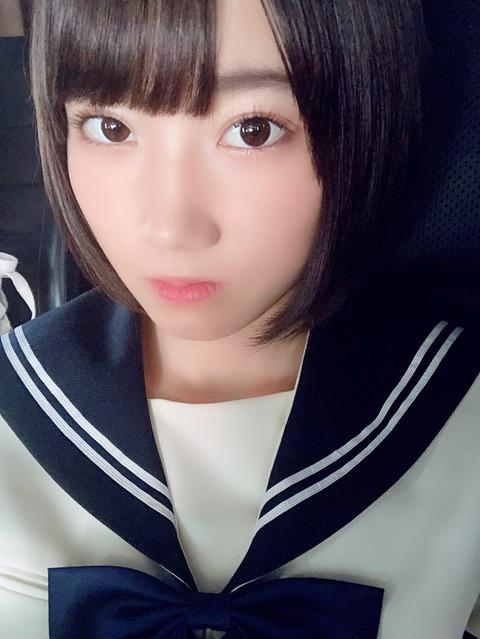 【STU48】甲斐心愛が地雷メイクしるけどめっちゃ可愛い!!