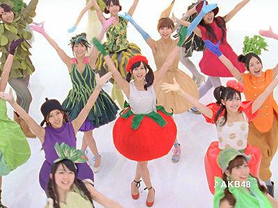 AKB48野菜シスターズ「これイチ/残業」篇