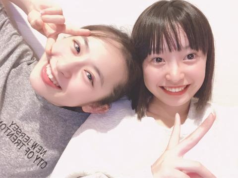 【AKB48】チーム8長谷川百々花ちゃんと坂川陽香ちゃんの歴史的和解キタ━━━(゚∀゚)━━━!!