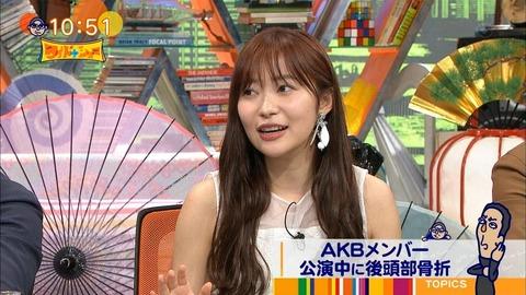 【HKT48】指原莉乃さん「他のアーティストなら転落事故になってない。リハーサル不足、確認不足はある」