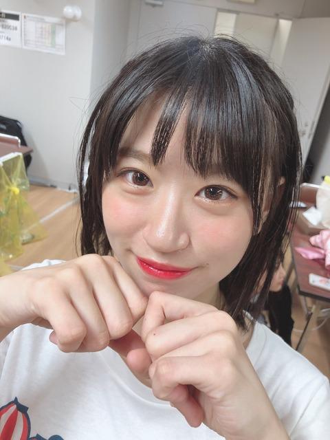 【画像】NMB48上西怜ちゃん、お●ぱいだけじゃなく顔もかわいい