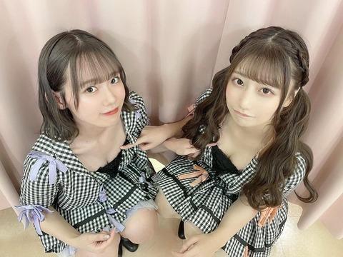 【AKB48】鈴木優香さん「劇場の2人公演、マネージャーから組む人がいないから無理って言われたけど有菜ちゃんに頼んで組んでもらった」