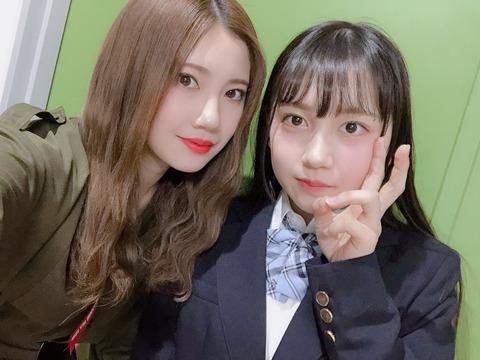 【朗報】SKE48に究極の美形コンビ誕生!「北川綾巴&赤堀君江」