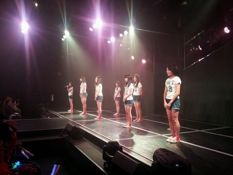 HKT48ひまわり公演初日で3期生お披露目