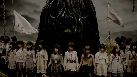 【AKB48】「風は吹いている」とかいうクッソ地味な曲www
