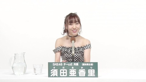 【悲報】SKE48須田亜香里さん、公演デビューしたばかりの矢作萌夏に総選挙アピールコメント再生数で完敗・・・