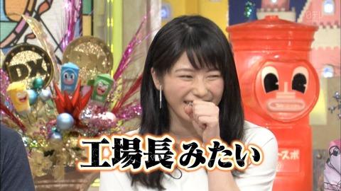 【悲報】総監督横山由依、せっかくのダウンタウンDXなのに声が枯れてて話が全く入ってこない