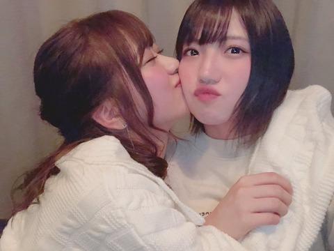 【AKB48】篠崎彩奈と村山彩希クリスマスイブにほろ酔いデートが発覚!