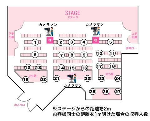 【朗報】AKB48劇場、有観客公演再開のお知らせ