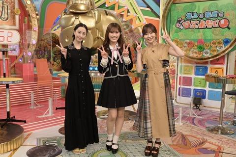 【NMB48】渋谷凪咲がセンターで両脇にレジェンド指原莉乃、松井玲奈の超豪華3ショットが感動的と話題