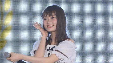 【NGT48】中井りか「ファンの人も暖かく迎えてくれているので頑張りたいと思います(笑)」