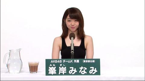【AKB48】峯岸みなみ「今年の総選挙で最後」