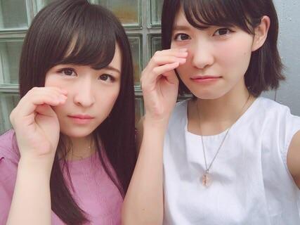 【悲報】川本紗矢と谷口めぐの手首の太さの差www
