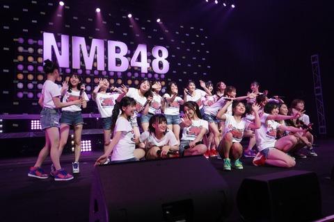 【朗報】NMB48のライブツアー仙台公演がチケット完売につき立ち見席販売決定!
