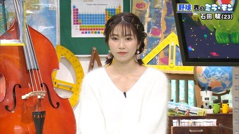 【画像】フジテレビに出た妖精のような女の子は誰?話題騒然【AKB48・横山由依】
