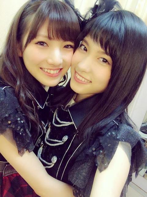 【AKB48】岡田奈々の谷口めぐへの愛が最近怖いんだけど・・・