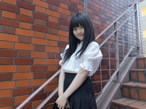 【SKE48】小畑優奈が人生初エクステに挑戦!黒髪ロングに