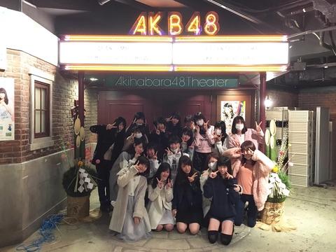 【AKB48】劇場大掃除プロジェクトは下口、飯野、西川の発案だった