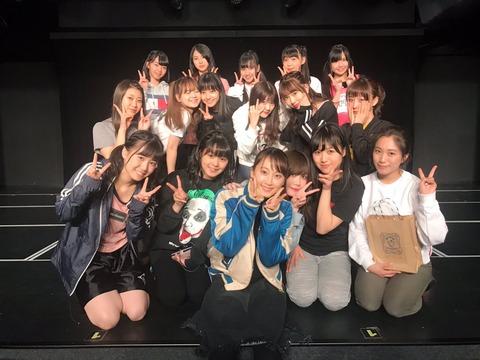 【朗報】元SKE48松井玲奈が劇場に降臨!!!