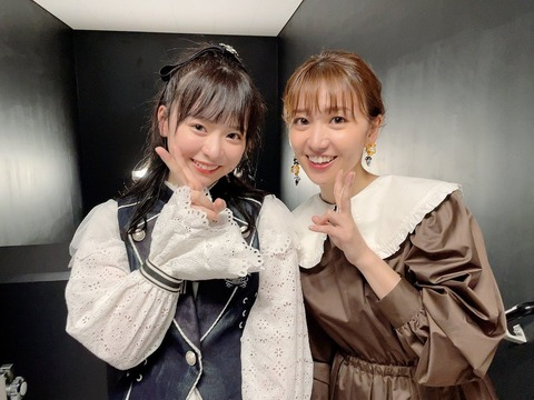 【AKB48】倉野尾成美「峯岸さんの卒コンで、大島優子さんと5分以上お話しできて泣いちゃった。握手券何枚分だろ?」