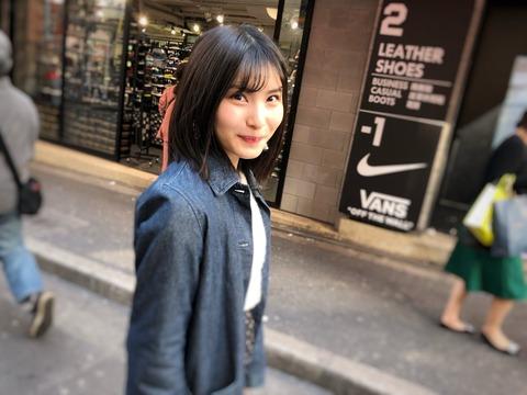 【AKB48】福岡聖菜「#彼女とお散歩デートなう に使っていいよ」【せいちゃん】