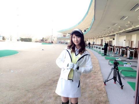 【AKB48】柏木由紀さん、意外とゴルフが上手くなりそう