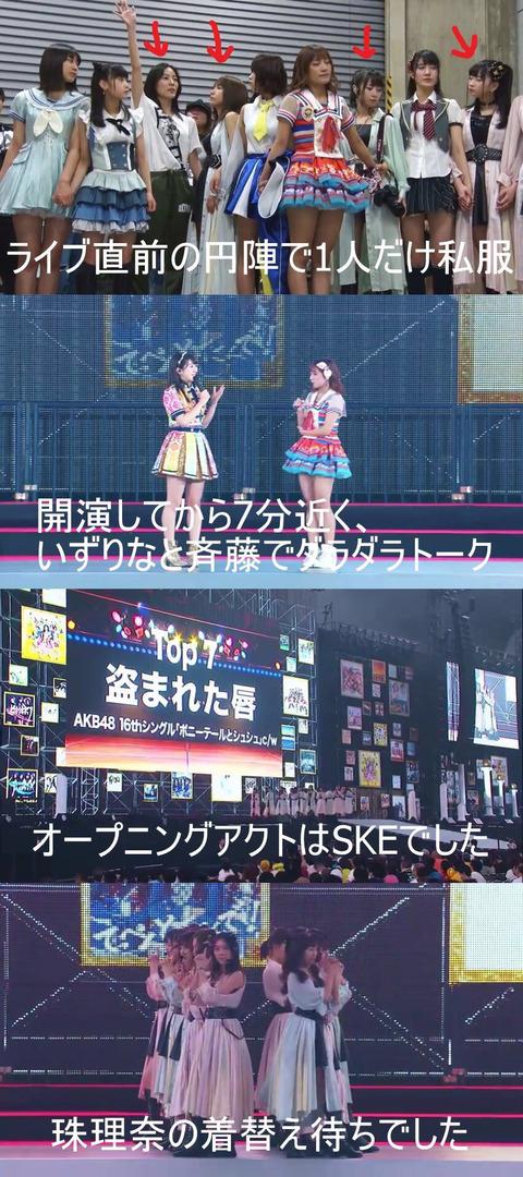【AKB48総選挙】あの日の松井珠理奈さんの雄姿が映像倉庫にて配信開始【リメンバー・ナゴヤドーム】
